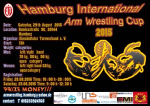 Arm Wrestling cup A3-1