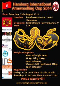 Hamburg International Armwrestling Cup 2014